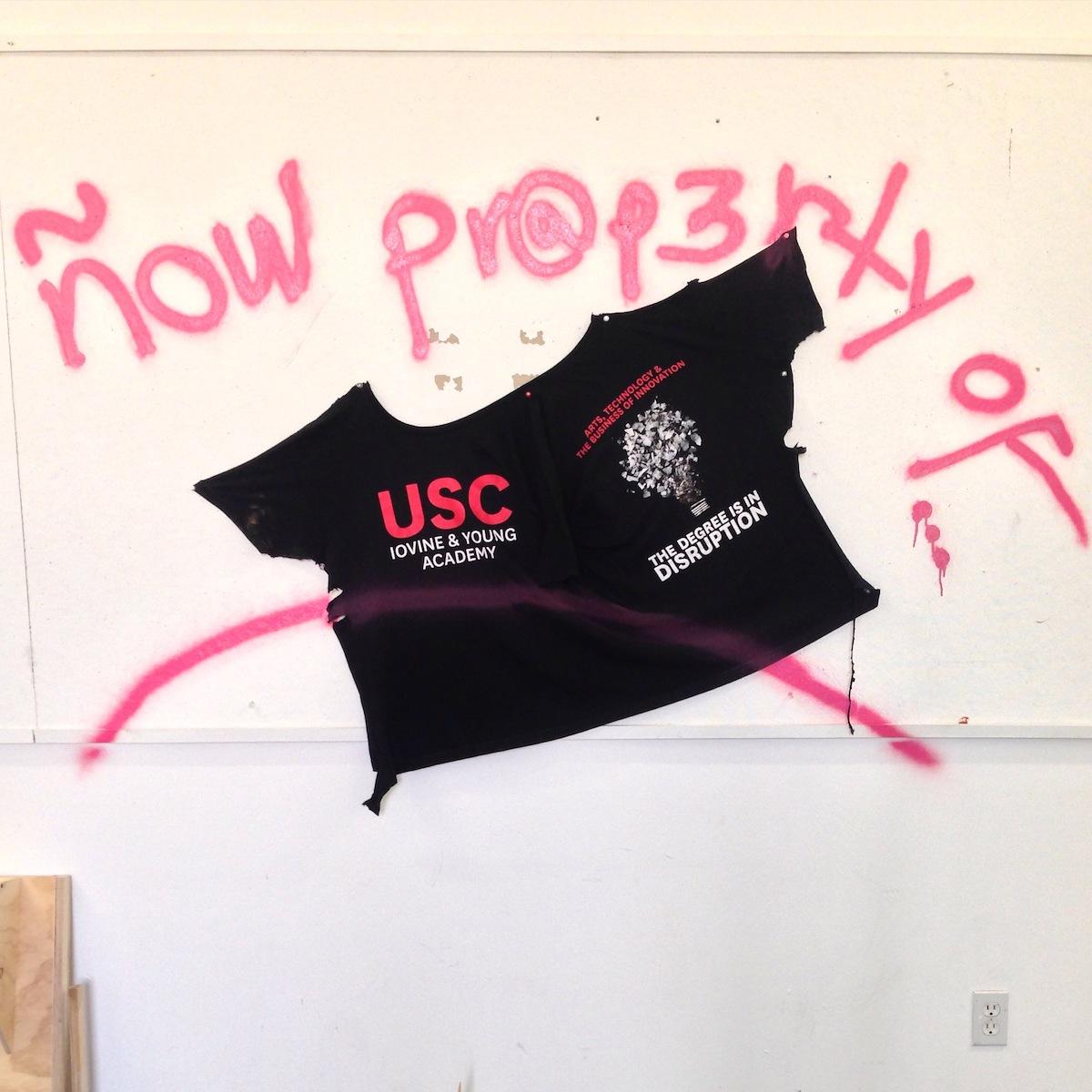 USC Roski Graduate Fine Arts building (Photo Credit: Jacinto Astiazarán)