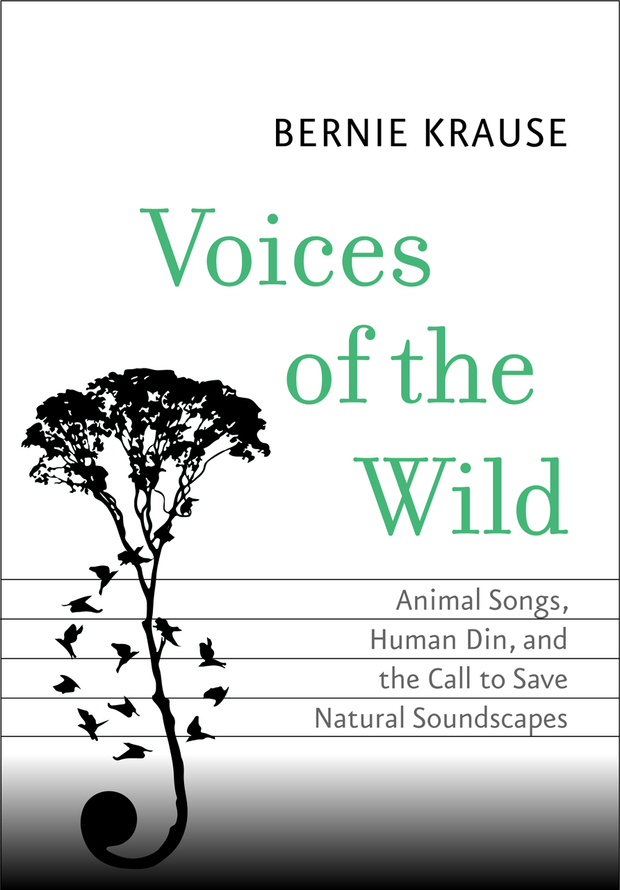 Cover of 'Voices of the Wild' (courtesy Yale University Press)