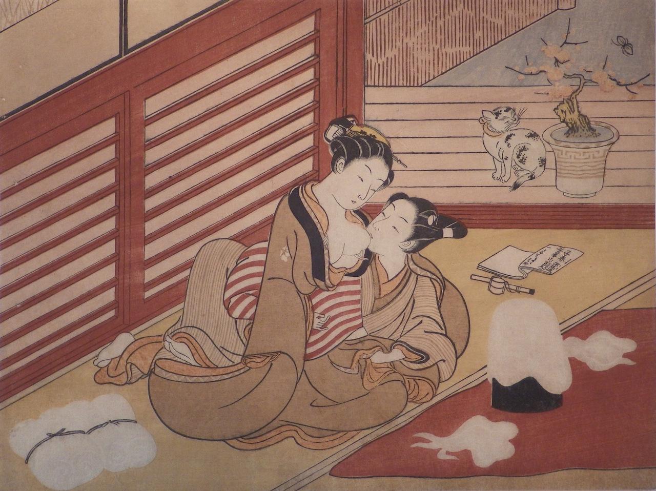 Ancient japanse erotic art girls