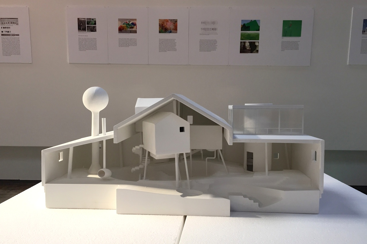 La 39 s architecture and design museum reopens with a show on for Bureau spectacular