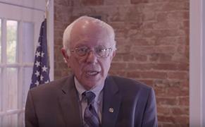 "Post image for White House Hopeful Bernie Sanders Promises to Be an ""Arts President"""