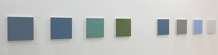 Marcia Hafif: From the Inventory (via lagunaartmuseum.org)
