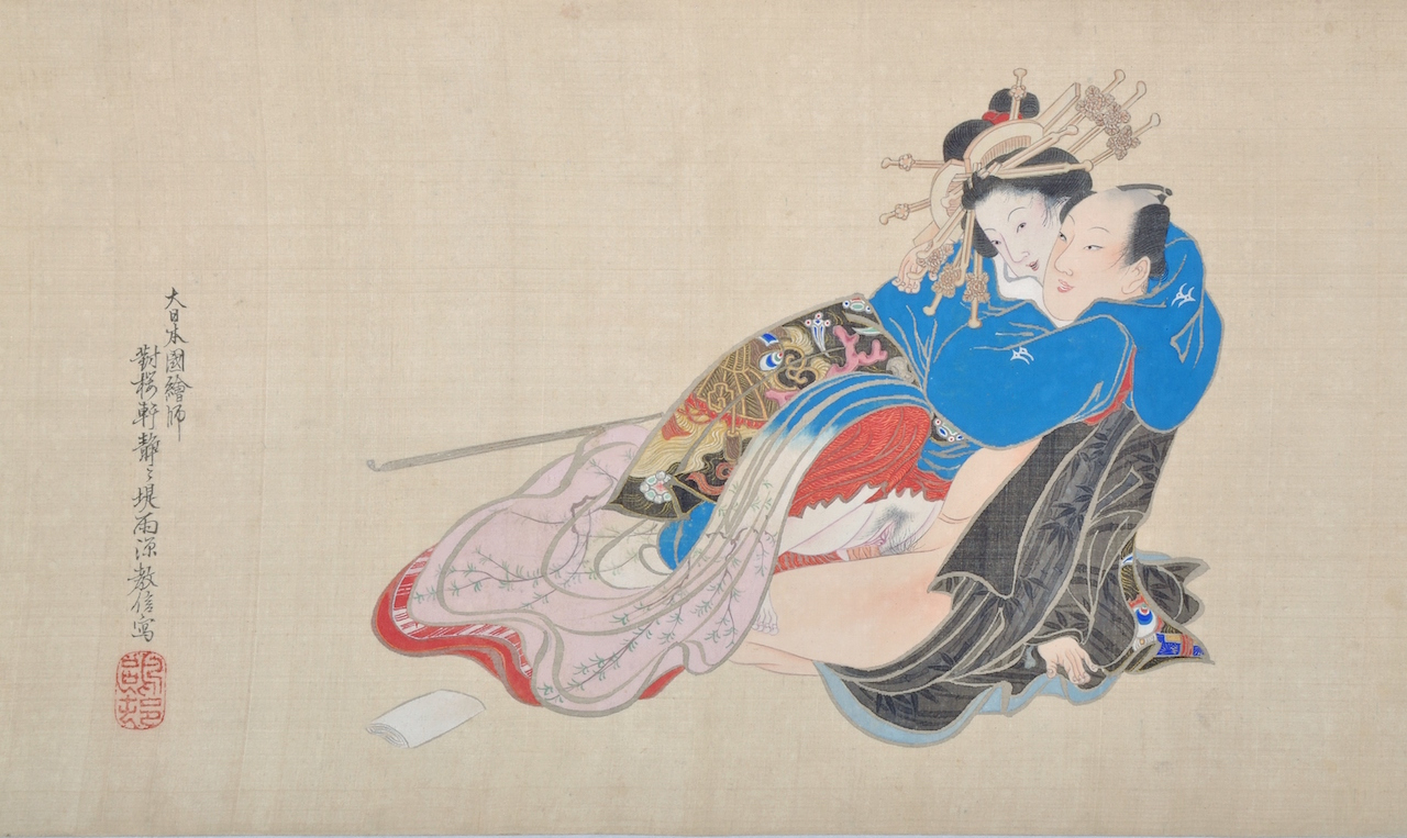 "Nozawa Teiu, ""Handscroll of secret love (Higi zukan)"""