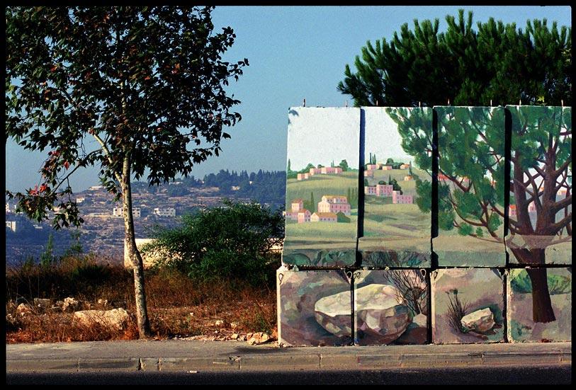 """Miki Kratsman, """"Gilo-#1"""" (2001) digital print, 116X170 cm"""