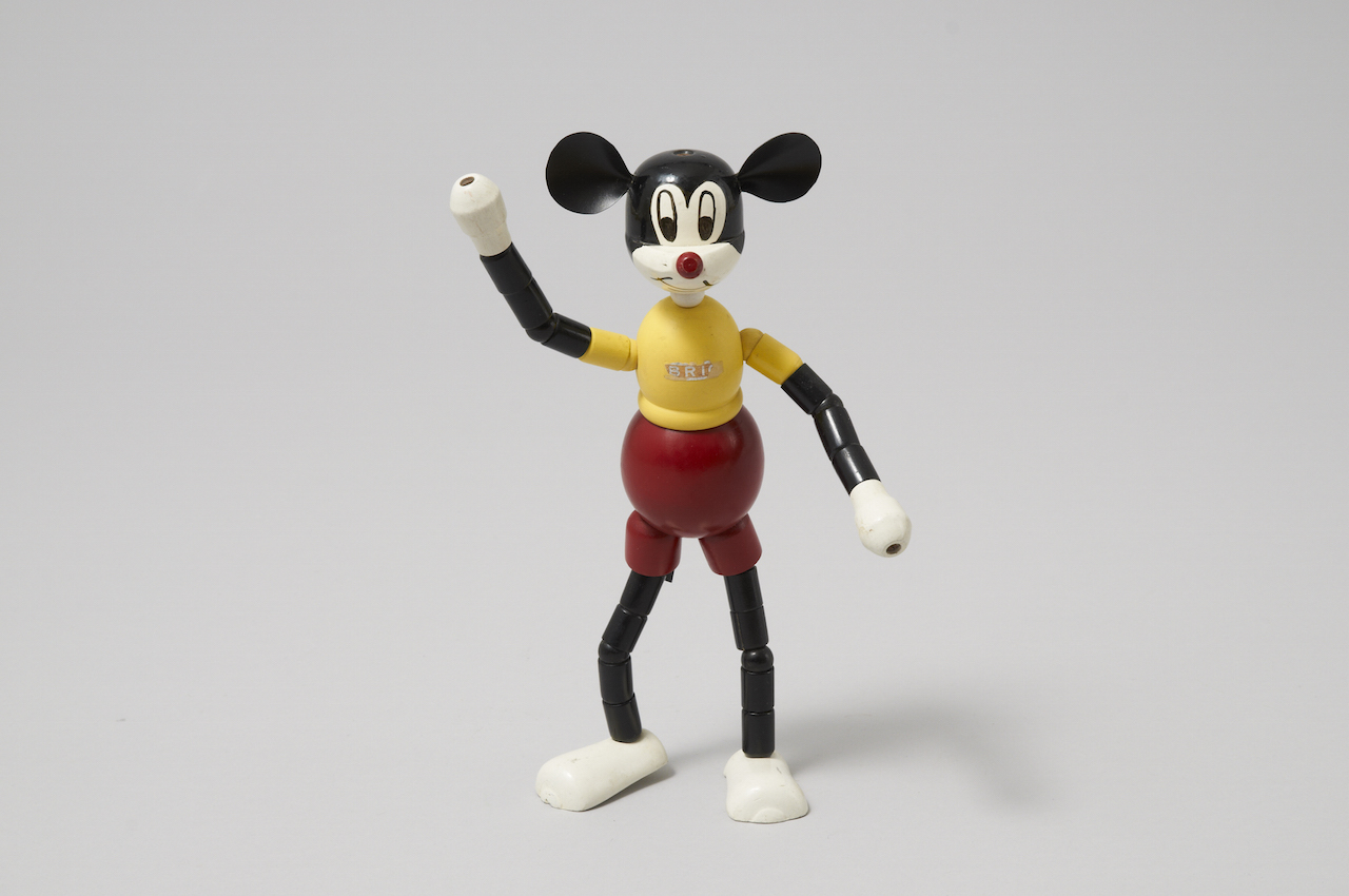 BRIO, Mickey Mouse, 1955. Wood. BRIO Lekoseum.Photographer: C83 Media, Carl-Johan Nilsson