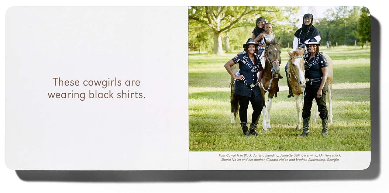 'Black Cowboys' with photographs by Andrea Robbins & Max Becher, and writing by Kyla Ryman (courtesy Home Grown Books)