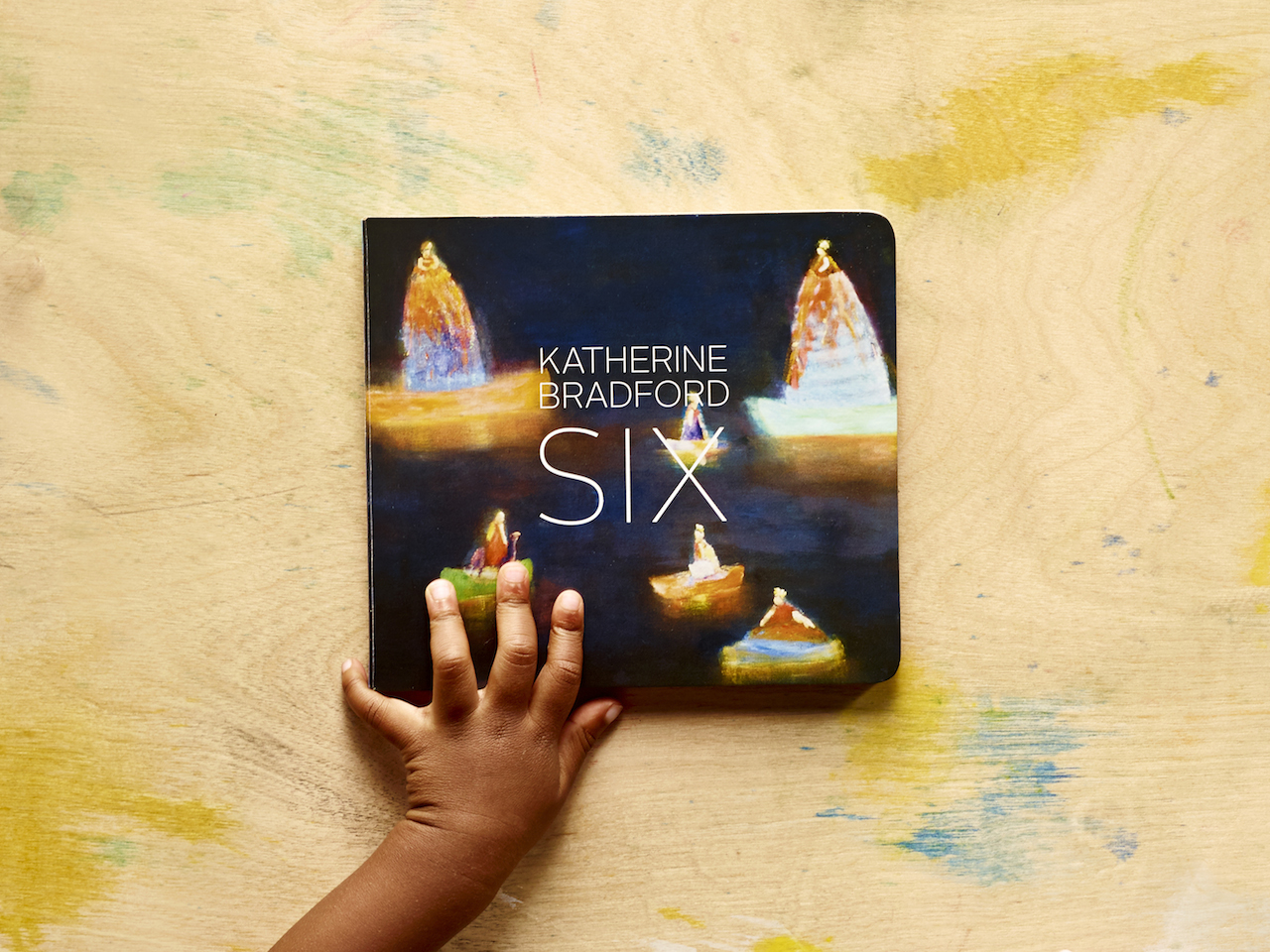 'Six' with art by Katherine Bradford (courtesy Home Grown Books)