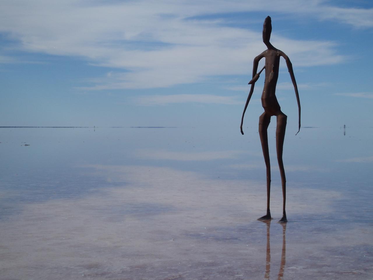 "Antony Gormley, ""Inside Australia"" (2002–03) (photo by Amanda Slater/Flickr)"