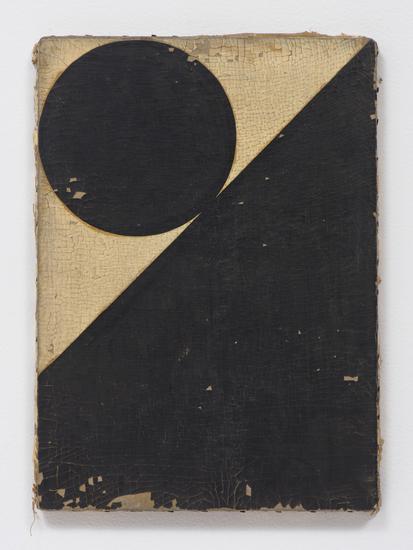 "Dan Levenson, ""Ramona Stünzi"" (2015), Oil on linen, 16.50"" x 12"" (Photo cred: Robert Wedemeyer, via vielmetter.com)"
