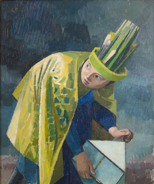 "Evelyn Dunbar, ""February"" (1937-38), oil on canvas (© The Artist's Estate, courtesy of Liss Llewellyn Fine Art)"