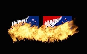 Post image for New Zealanders Embarrassed by Finalists for National Flag and Banknote Redesigns