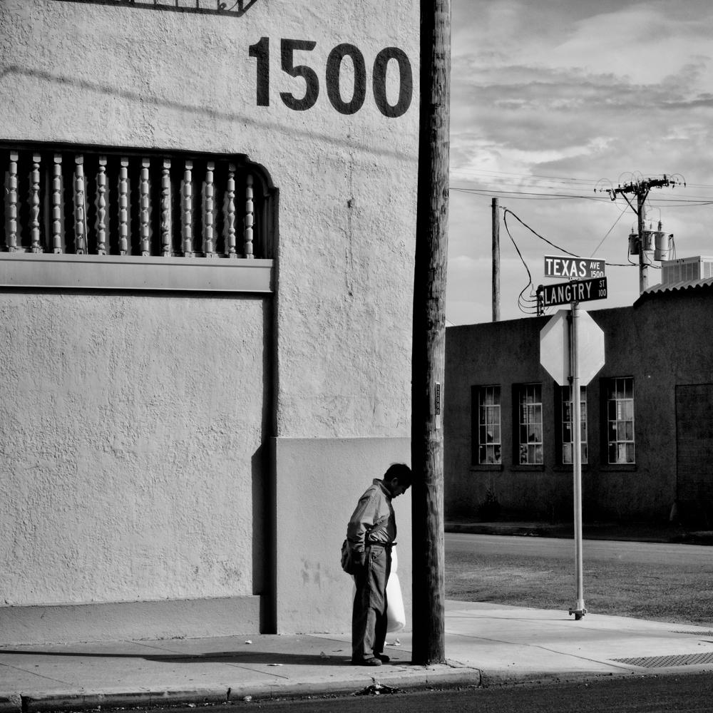 Warehouse district. El Paso, Texas (photo by Matt Black)