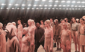 Post image for The Social Commentary Hidden in Kanye West and Vanessa Beecroft's Fashion Show