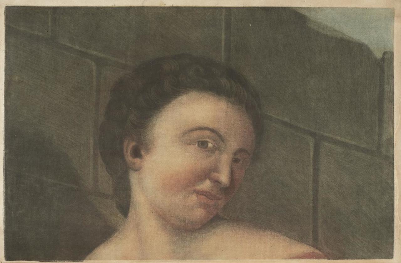 """Jacques Gautier-D'Agoty, """"Anatomie de la Tête"""" (1748)"""