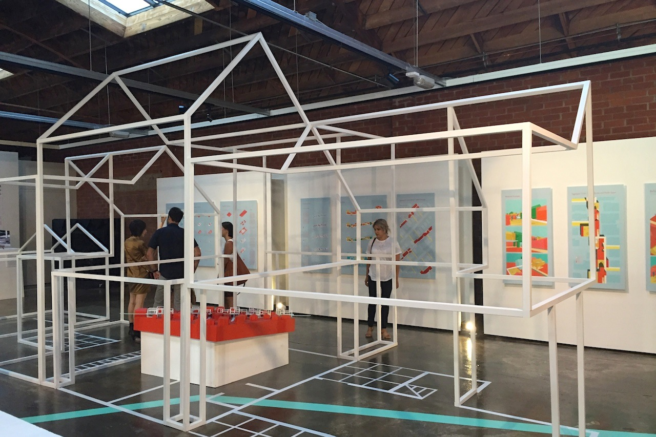 Project by LA-Más at the A+D Museum (all photos by the author for Hyperallergic)