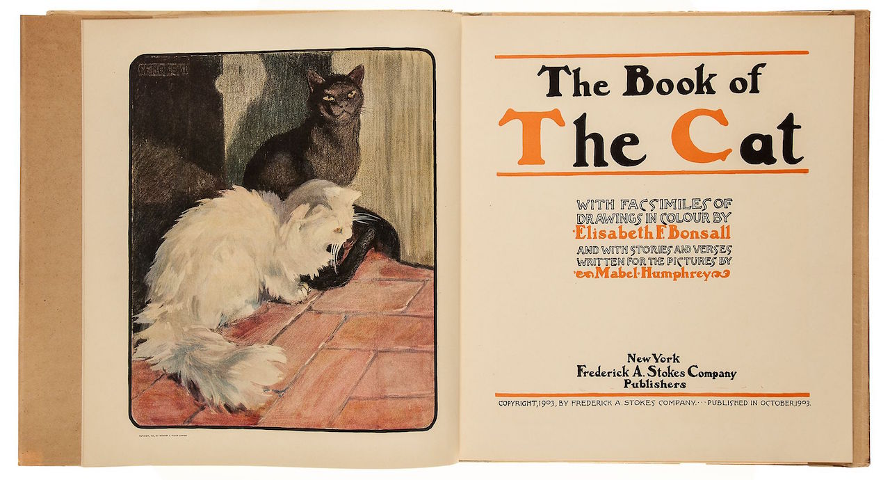 "Elisabeth Bonsall, ""The Book of the Cat"" (1903)"