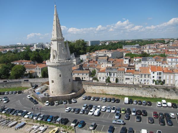 A general view of Tour de la Lanterne in La Rochelle, France. (image via L.O. KAP's Flickrstream)