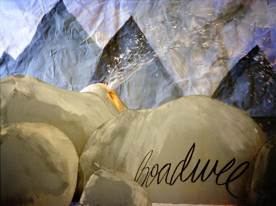 """Boadwee, """"Crystal Geyser"""" (2000), 21.75 x 26.75"""