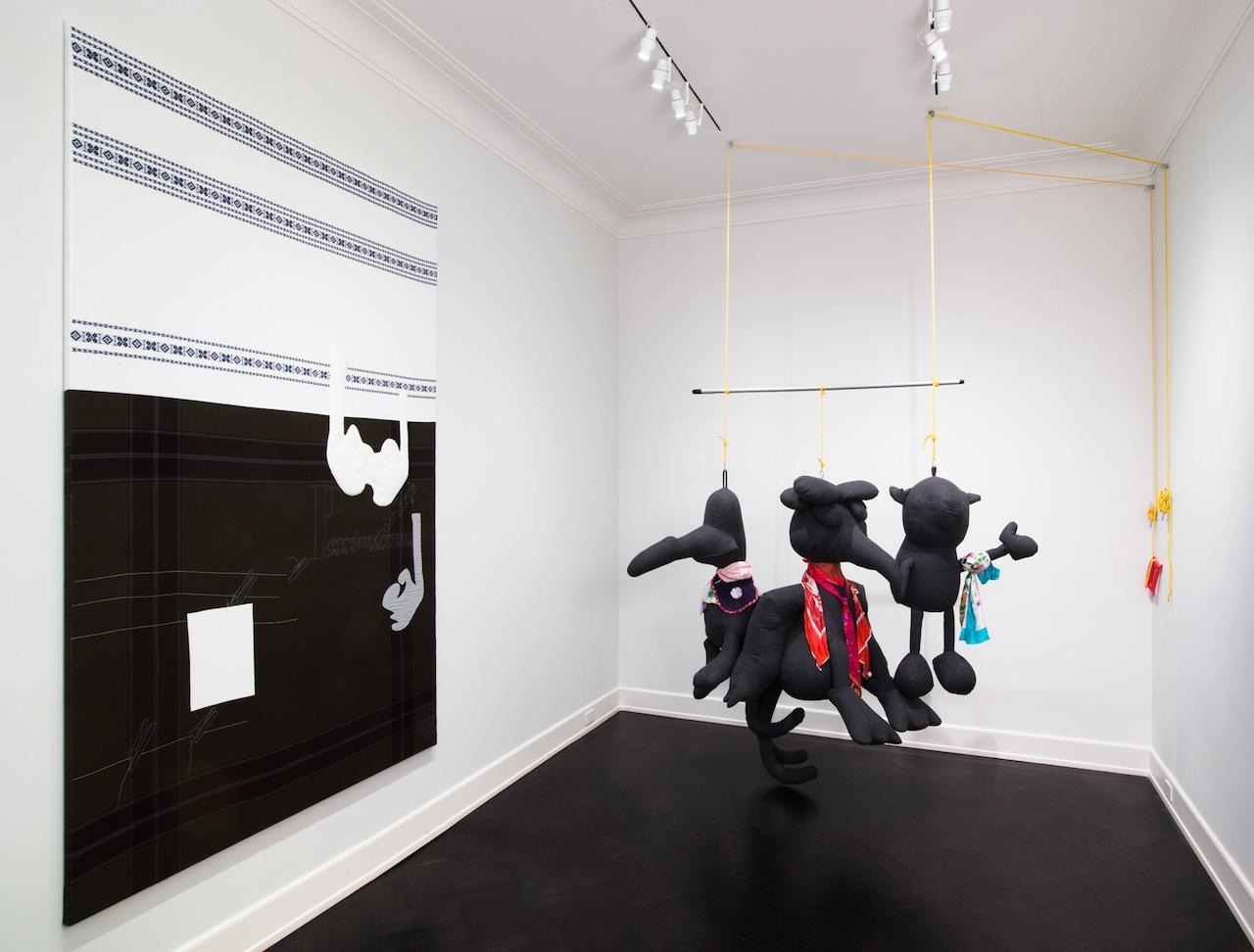 Cosima von Bonin, 'CvB Singles Uptown Remix' (2015), installation view