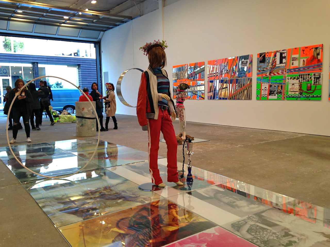 Installation view, 'Isa Genzken' at David Zwirner (all photos by Jillian Steinhauer/Hyperallergic)