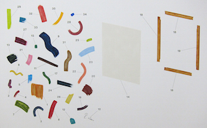Post image for Diagrammatic Paintings of Curious Contraptions