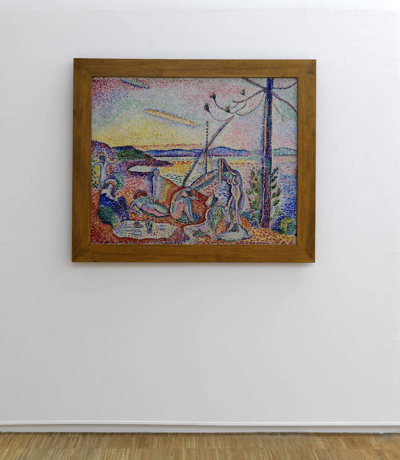 "Henri Matisse, ""Luxe, calme et volupté"" (1904) (photo by Philippe Migeat, courtesy the Centre Pompidou)"