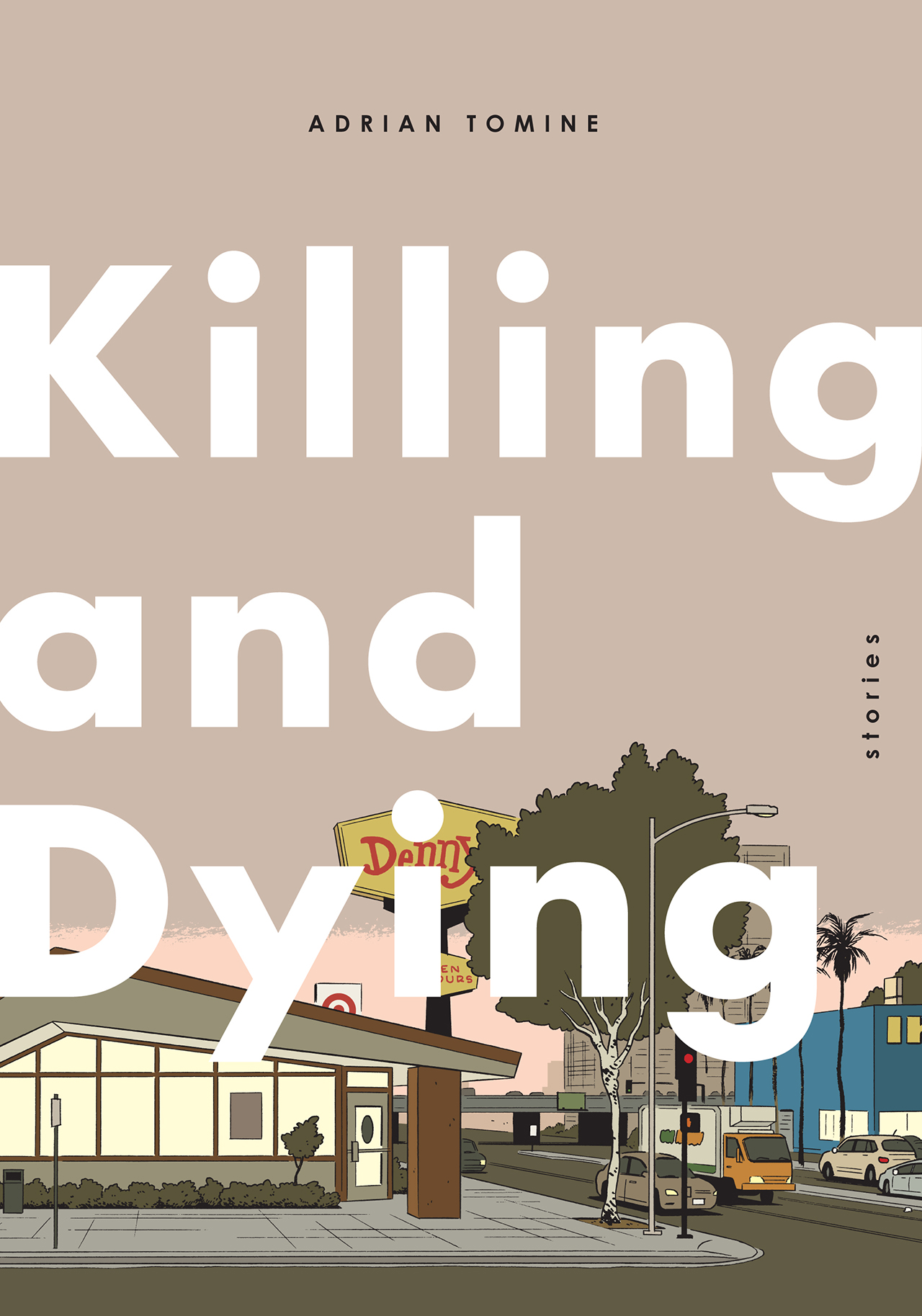 Cover of Adrian Tomine's 'Killing and Dying' (all images courtesy Drawn & Quarterly)