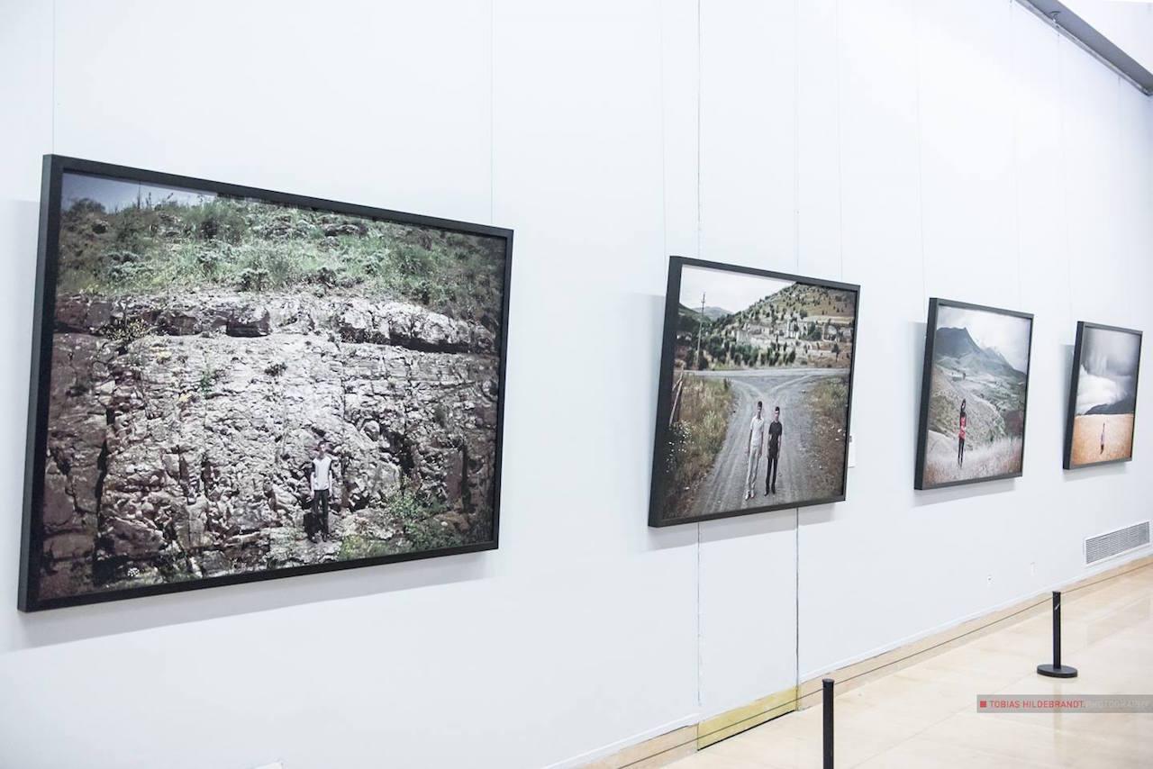 "Karen Mirzoyan's ""Karabagh War Series: Past, Present, and Future"" (2010) (photo by Tobias Hildebrandt)"