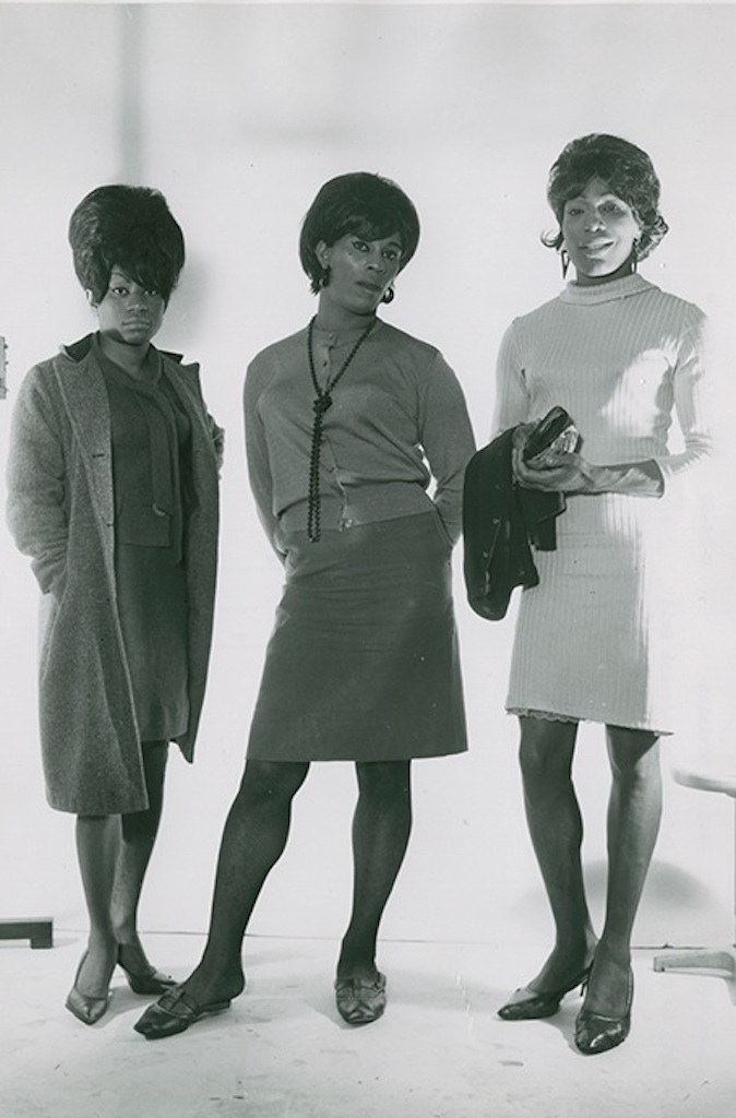 Anonymous photographer, police department, Three standing figures (1966) (courtesy Kinsey Institute, Indiana University)