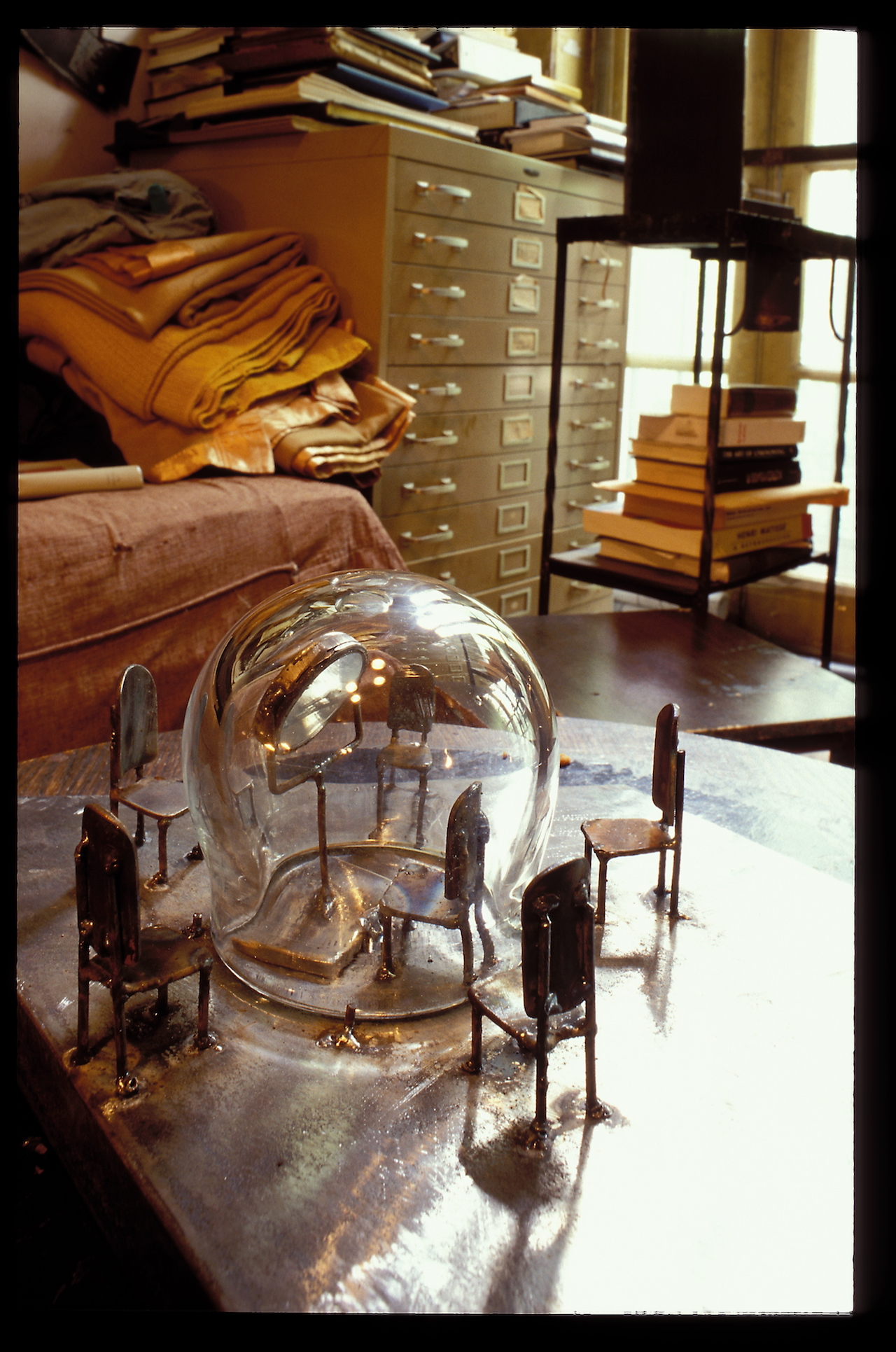 Louise Bourgeois' Chelsea apartment