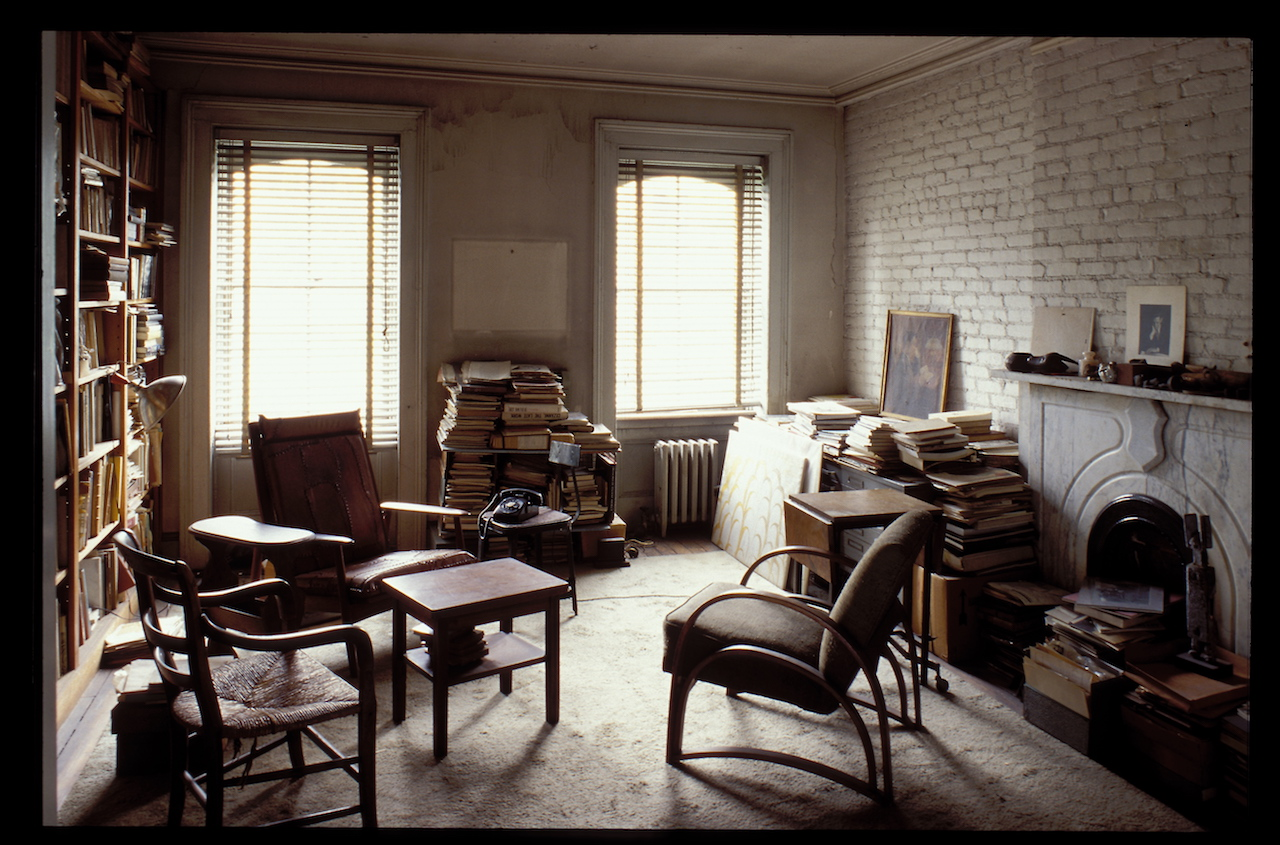 In Louise Bourgeois' Chelsea apartment