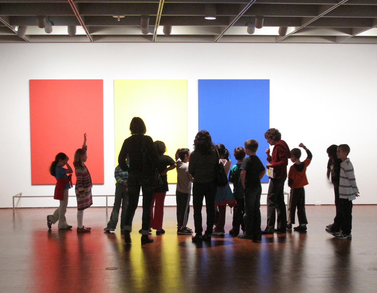 Museum education in progress. Photo by John Picken via Flickr.