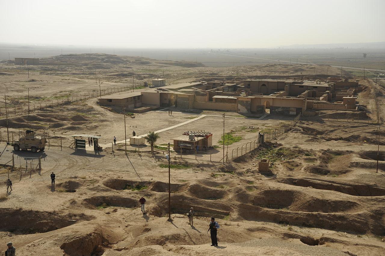 Ancient Nimrud (Image via Wikimedia)