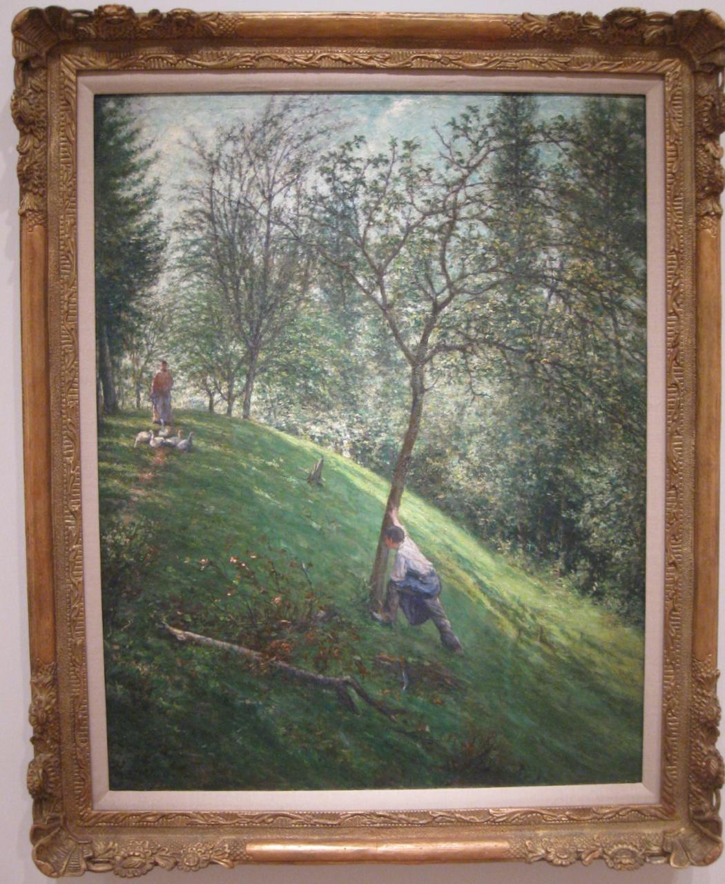 """Francisco Oller """"French Landscape"""" (1895-96)"""
