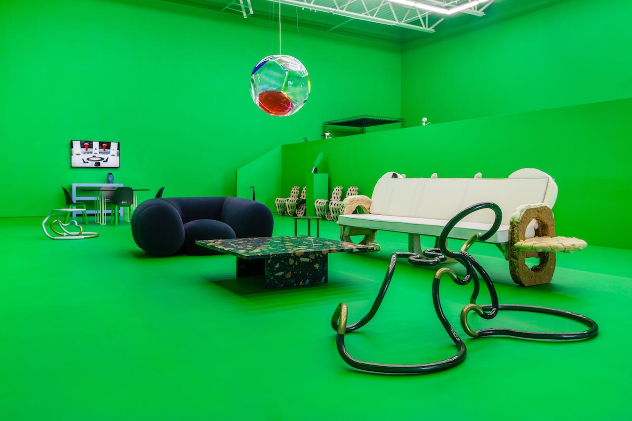Pavillon de l'Esprit Noveau: A 21st Century Show Home, installation view (all images courtesy Swiss Institute)