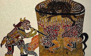 Post image for The Magic of Light and Shadow in Asian Puppet Theater