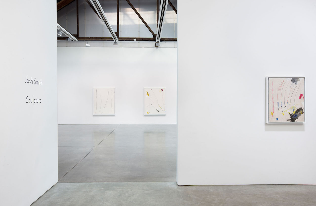 Installation view of 'Josh Smith: Sculpture' at Luhring Augustine (all images courtesy the artist and Luhring Augustine)