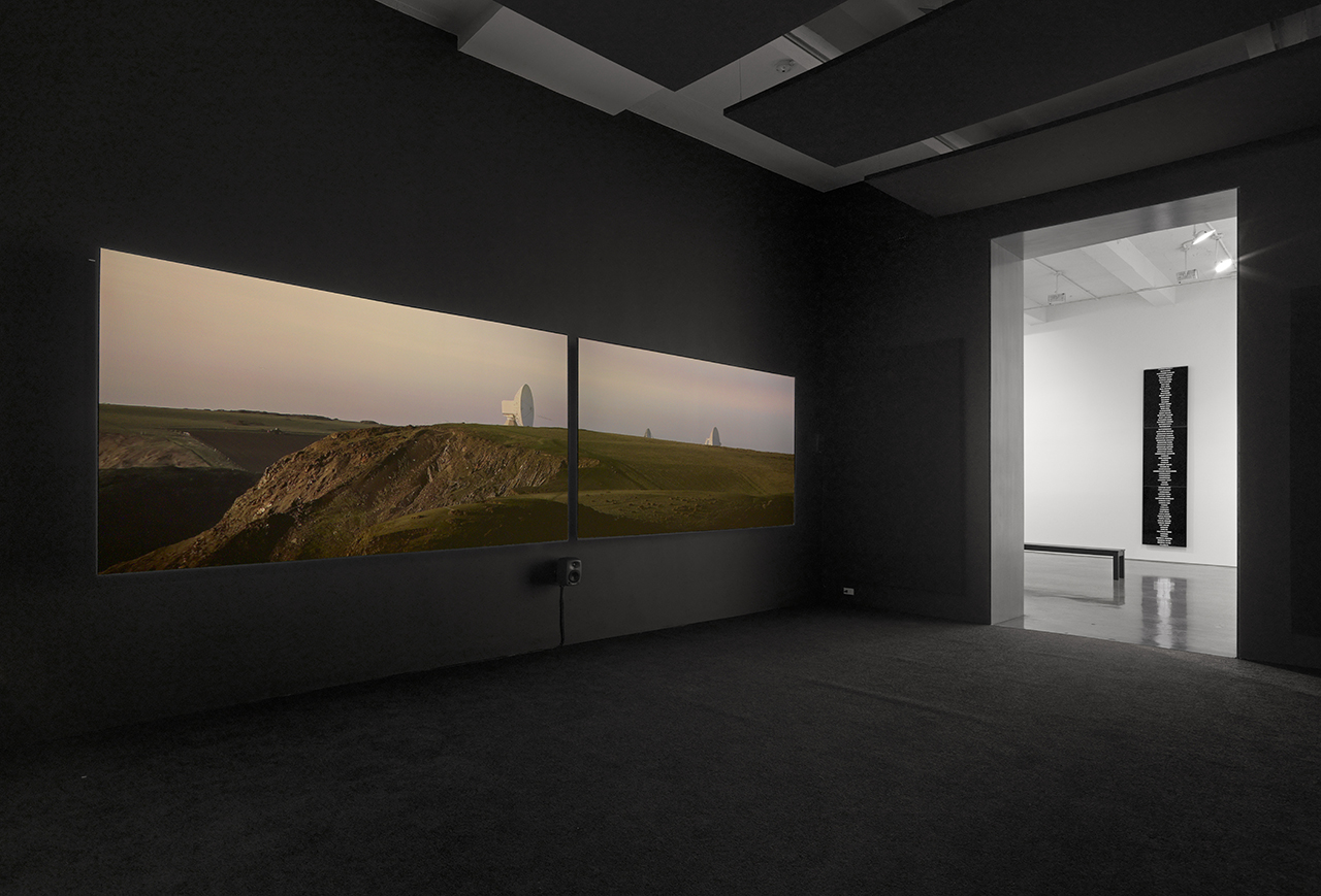 Installation view, 'Trevor Paglen' at Metro Pictures (all images courtesy the artist and Metro Pictures)