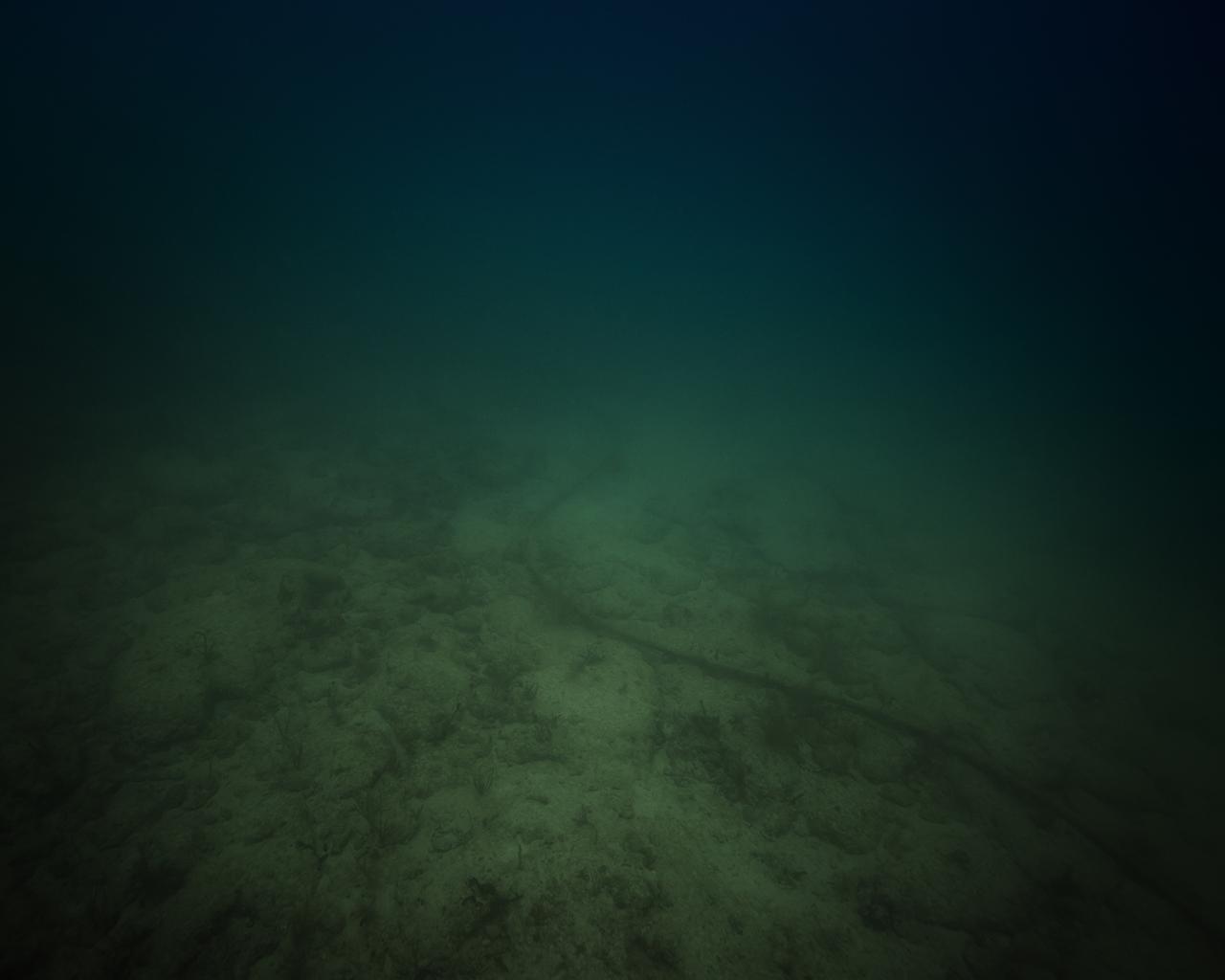 "Trevor Paglen, ""Maya-1 NSA/CGHQ-Tapped Undersea Cable Caribbean Sea"" (2015), c-print"