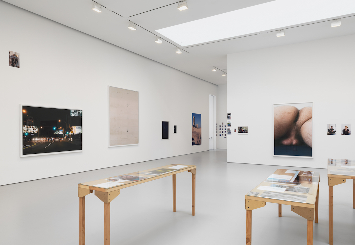 Wolfgang Tillmans: 'PCR,' installation view (all photos courtesy David Zwirner Gallery)