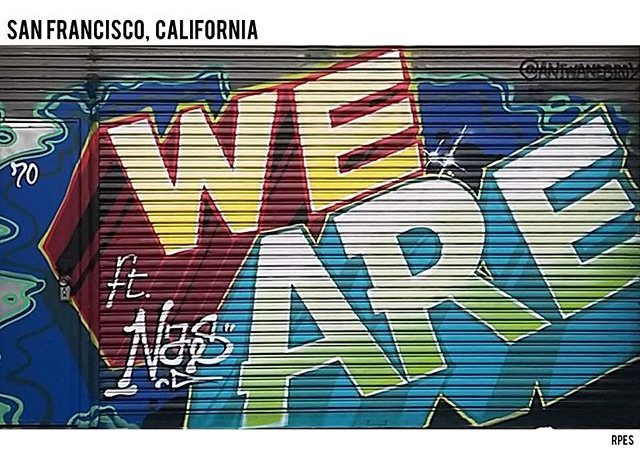 """We Are"" (feat. Nas) by RPES (image via @justinbieber/Instagram)"