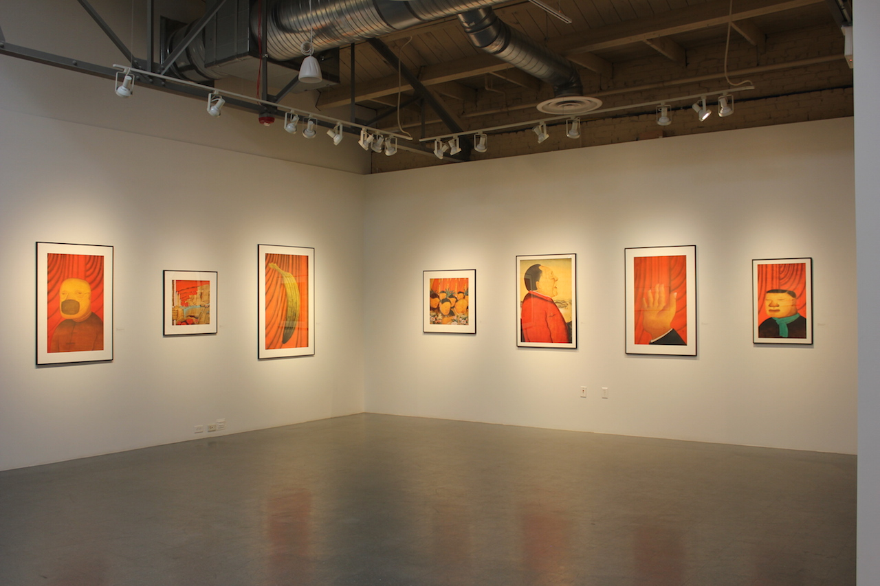 Installation view of 'A New Fine Line' at the Metropolitan State University of Denver's Center for Visual Art