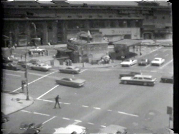 "Atlantic Avenue Metro Station, Still from video ""Atlantic in Brooklyn,"" 1971-72. Courtesy the artist and Pierogi / The Boiler"
