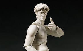"Post image for ""David"" and ""Venus de Milo"" Action Figures Put Art History in Motion"