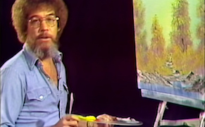 Post image for Happy Little eClouds: First Episode of 'Joy of Painting' Goes on YouTube
