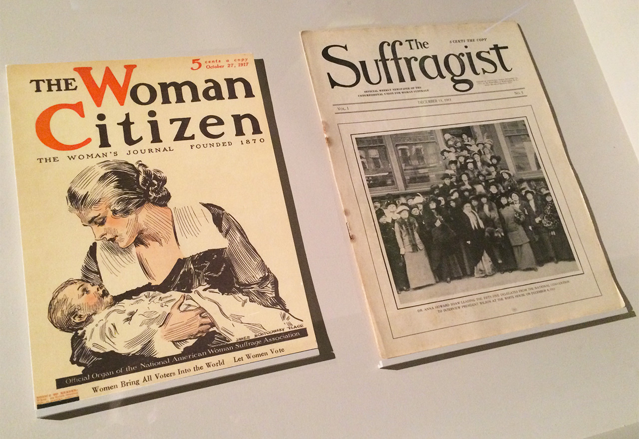 Women's rights magazines from the early 20th century