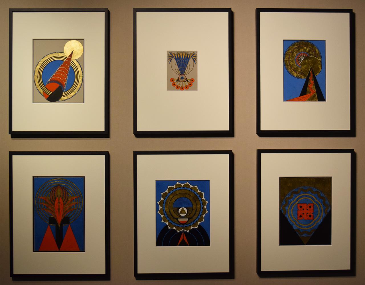 Works by Olga Fröbe-Kapteyn