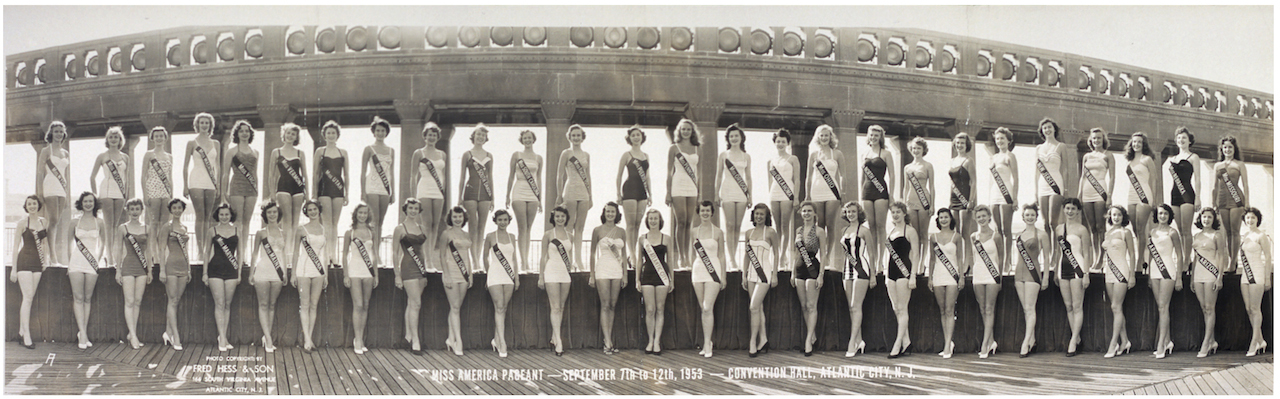Fred Hess & Son Miss America Pageant—Convention Hall, Atlantic City, New Jersey, September 7–12, 1953