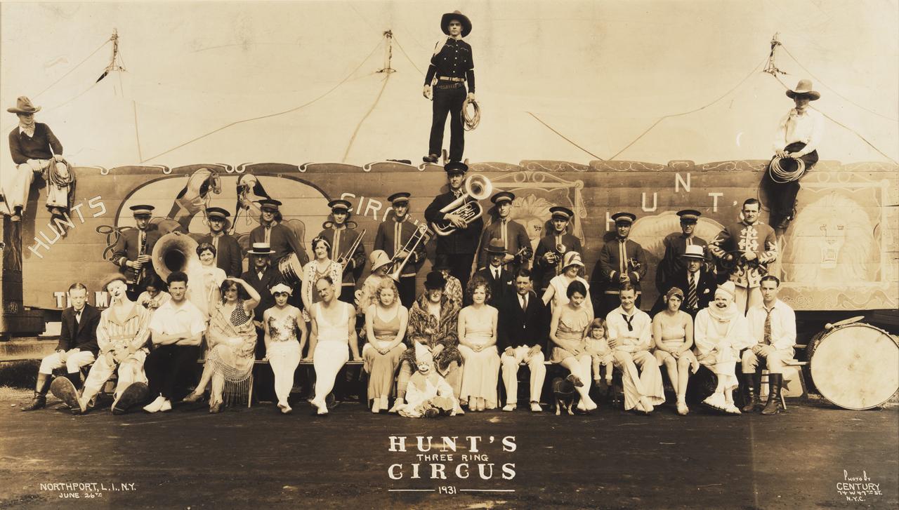 E. J. Kelty (American, 1888–1967), Century Photographers Hunt's Three Ring Circus, Northport, Long Island, New York, June 26, 1931