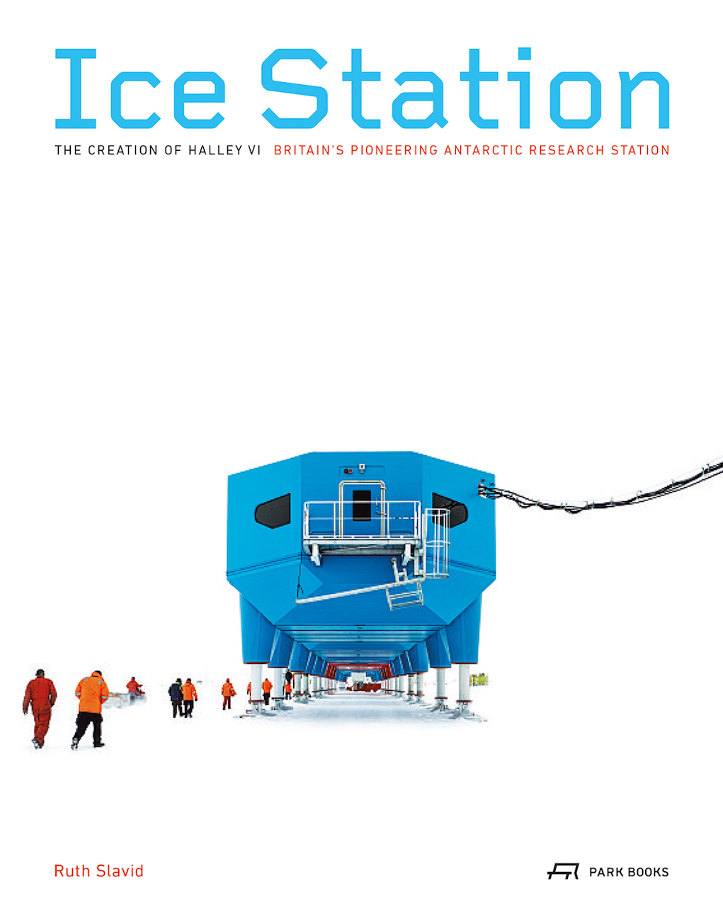 Cover of 'Ice Station' (courtesy Park Books)